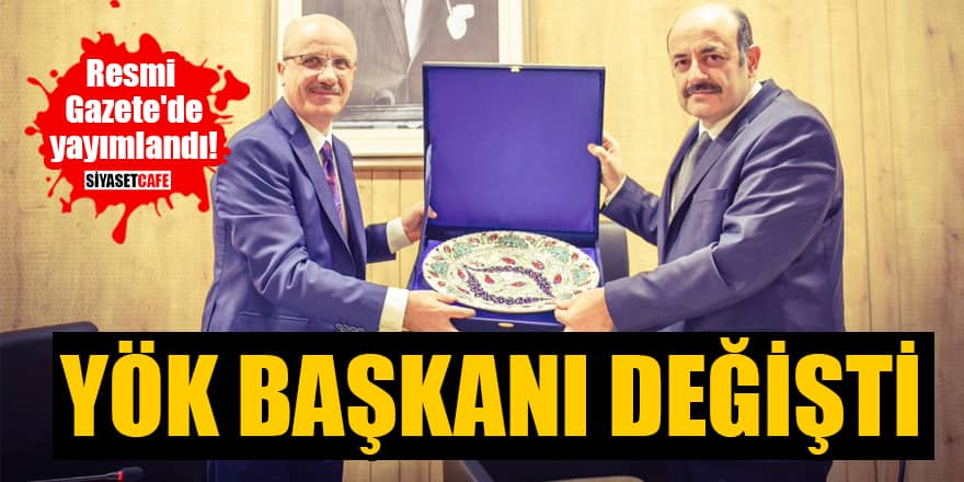 Yeni YÖK Başkanı Prof. Dr. Erol Özvar oldu! Prof. Dr. Erol Özvar kimdir?