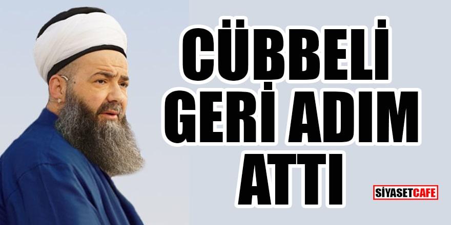 Cübbeli, 'Tekbirler yangını söndürür' paylaşımı tepki toplayınca geri adım attı!
