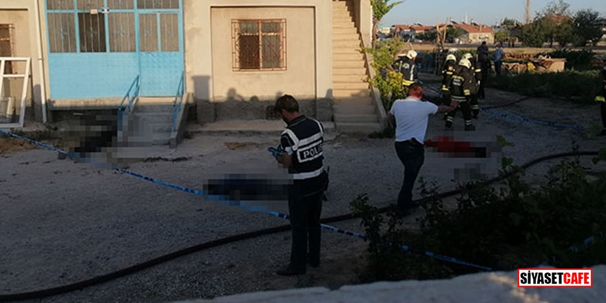 Konya'da eve düzenlenen silahlı saldırıda 10 gözaltı!