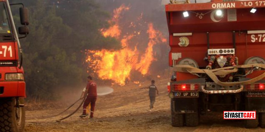 Manavgat'tan acı haber! 2 yangın işçisi yaşamını yitirdi