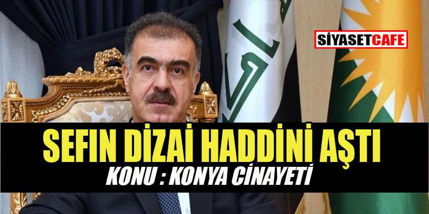 Konya'daki cinayete Barzaniler de dil uzattı