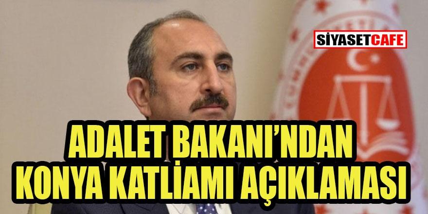 Bakan Gül'den Konya açıklaması: İlk bulgulara göre...