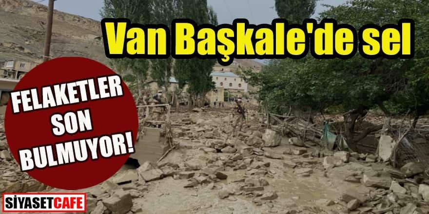 Felaketler son bulmuyor: Van Başkale'de sel