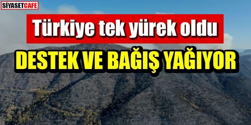 Türkiye tek yürek oldu: Destek ve bağış yağıyor