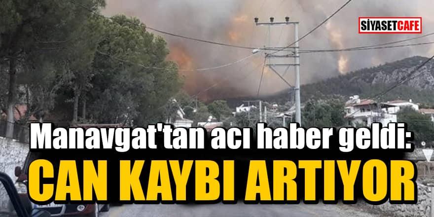 Manavgat'tan acı haber geldi: Can kaybı artıyor