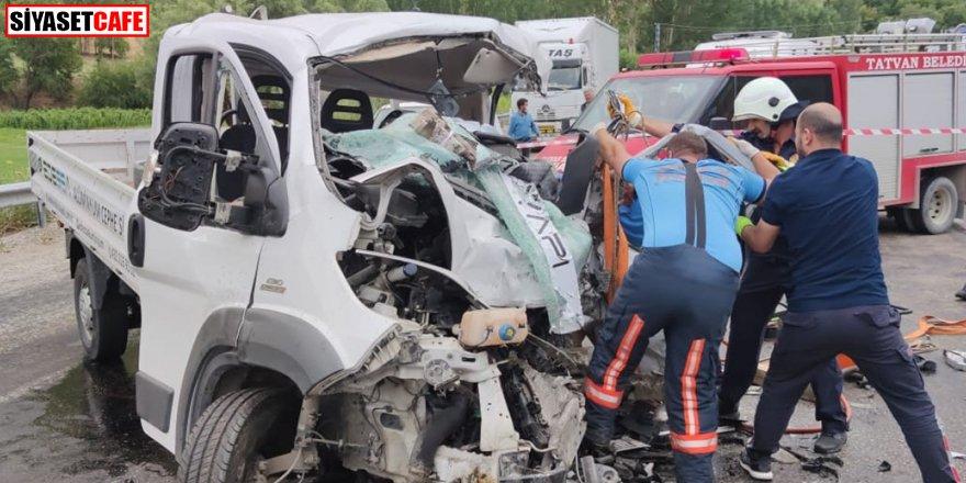 Bitlis'te korkutan kaza: Ölü ve yaralılar var