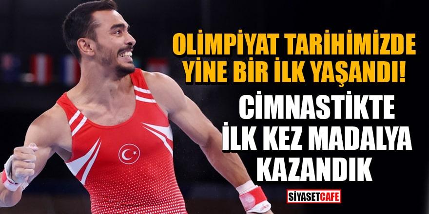 Olimpiyat tarihimizde cimnastikte ilk kez madalya kazandık! Ferhat Arıcan'dan bronz geldi