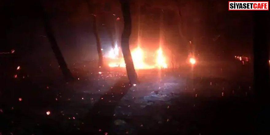 Sabotaj iddiası: Çanakkale'de korkutan yangın