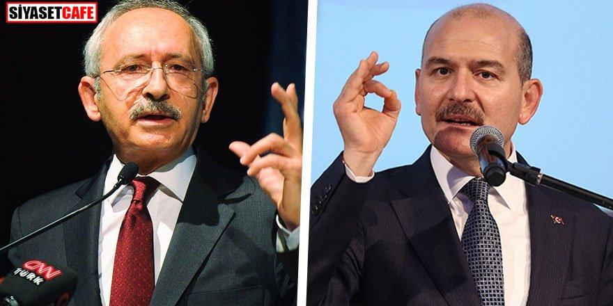 Soylu'dan Kılıçdaroğlu'na 'göç' tepkisi