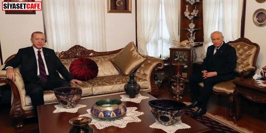 Erdoğan'dan Devlet Bahçeli'ye ziyaret