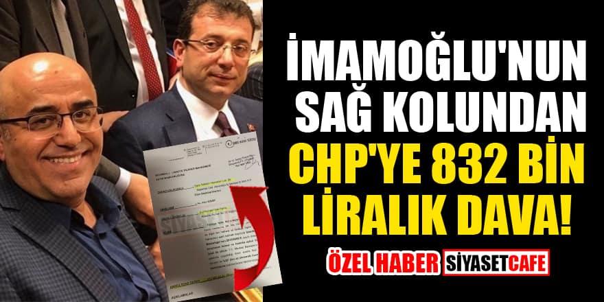 İmamoğlu'nun sağ kolu Necati Özkan'dan CHP'ye 832 bin liralık dava!