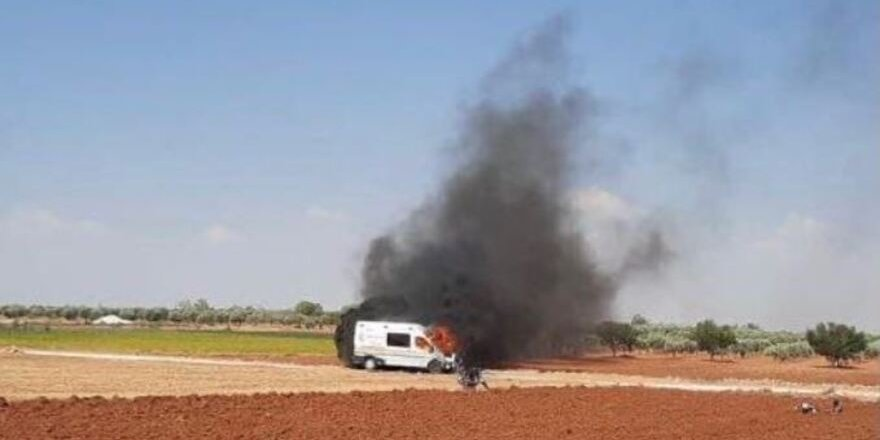 Ambulansı füze ile vuran PKK hedefleri bombalandı
