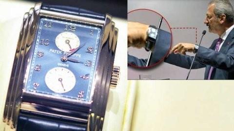 Çağlayan'ın Reza'dan aldığı saat kaçak çıktı