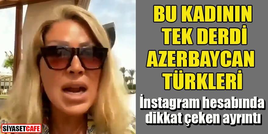 Arapça hesap açan Nüket Eroğlu'nun tek derdi Azerbaycan Türkleri