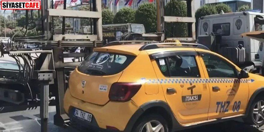 Turist sandı: Taksim'den Şişli'ye 500 lira istedi