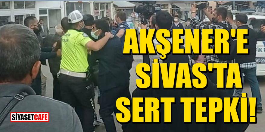 """Akşener'e Sivas'ta sert tepki: """"Sivas gibi yere o karı gelemez"""""""