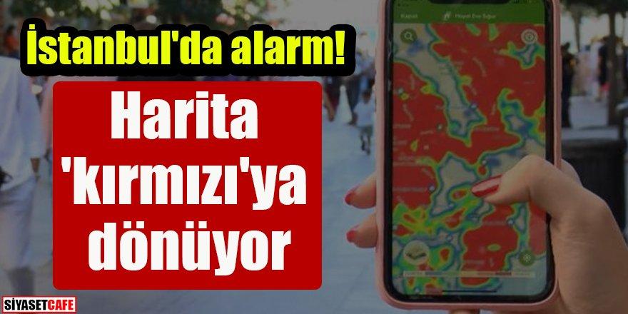 İstanbul'da alarm: Harita 'kırmızı'ya dönüyor