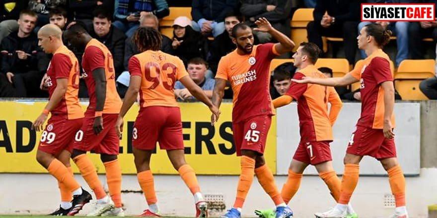 Galatasaray 4 golle play-off turuna yükseldi