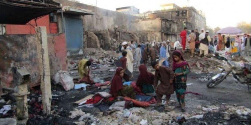 Taliban girdiği yeri harabeye çeviriyor, İşte Kunduz'dan son görüntüler