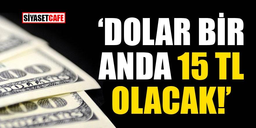 Ekonomist Selçuk Geçer'in tahmini korkuttu: Dolar bir anda 15 TL olacak!