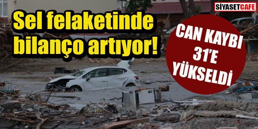 Sel felaketi: Can kaybı 31'e yükseldi