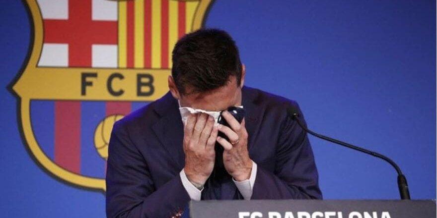 Messi'nin gözyaşını sildiği peçete satışta: İnanılmaz fiyat