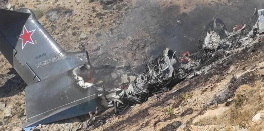 Rusya Savunma Bakanlığı: Düşen uçakta 8 personel bulunuyordu