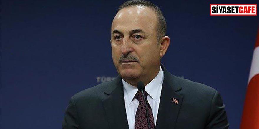 Bakan Çavuşoğlu'ndan düşen uçakla ilgili açıklama