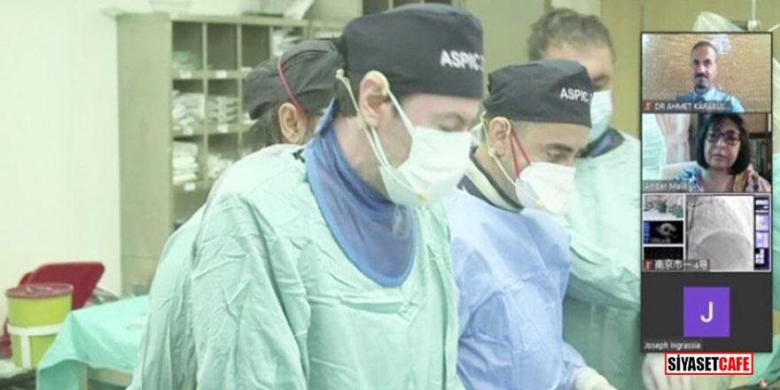 Türk Doktorlarından Dünya Hekimlerine canlı yayında eğitim!