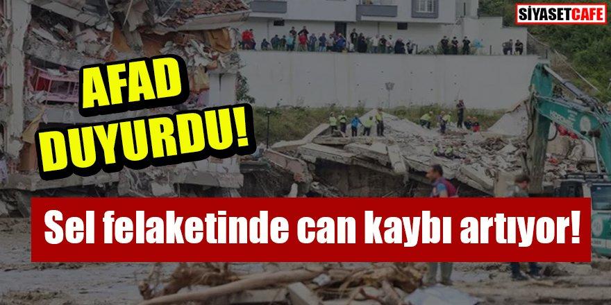 AFAD duyurdu: Sel felaketinde can kaybı artıyor!
