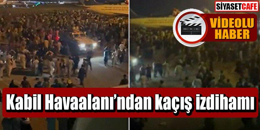 Kabil Havaalanı'ndan kaçış izdihamı