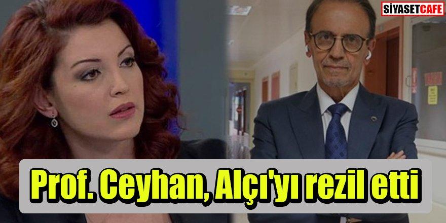Mehmet Ceyhan: Nagehan Alçı'nın bütün yazısı yalan üzerine kurulu
