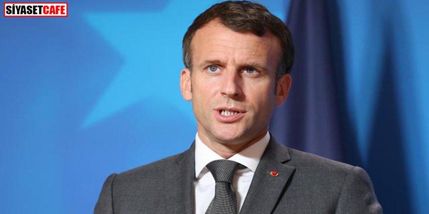 Macron'un Afganistan açıklamasına tepki yağdı