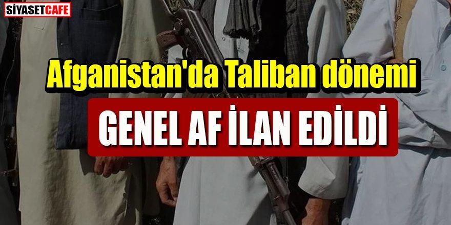 Afganistan'da Taliban dönemi: Genel af ilan edildi