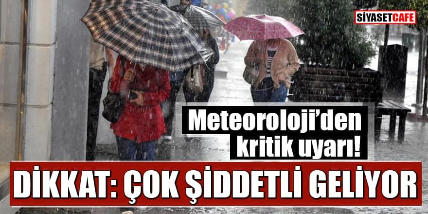 Meteoroloji tarih ve saat verdi: Kastamonu, Sakarya, Düzce, Zonguldak için kritik uyarı
