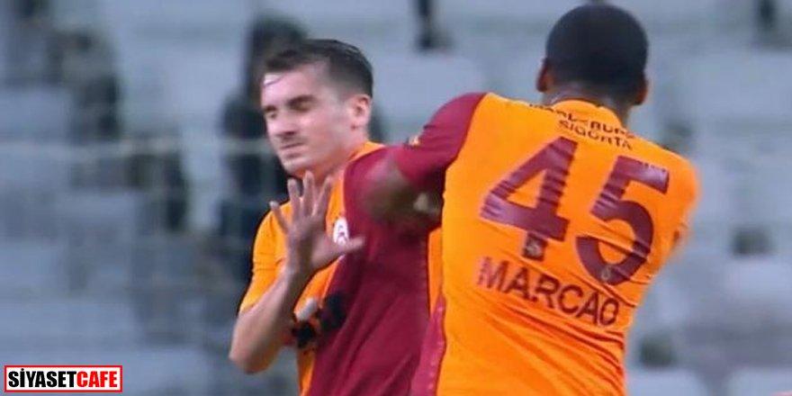 Marcao'ya hem maç hem de para cezası!