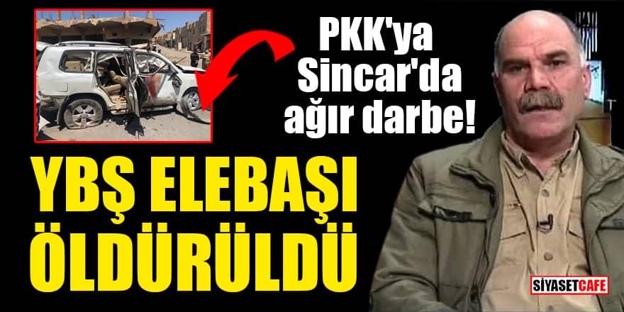 PKK'ya Sincar'da ağır darbe! YBŞ elebaşı öldürüldü