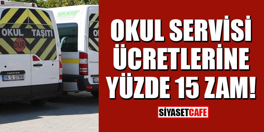 İstanbul'da okul servisi ücretlerine yüzde 15 zam
