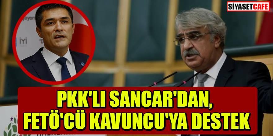 HDP'li Sancar'dan Buğra Kavuncu'ya destek