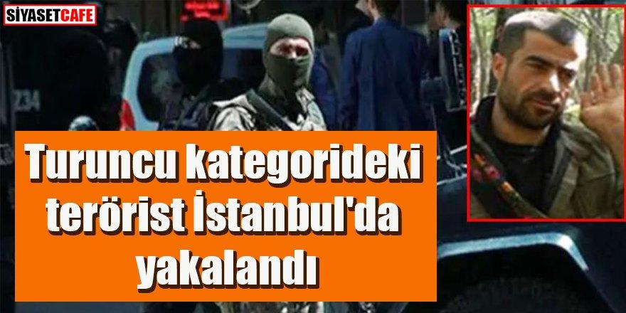 Turuncu kategorideki terörist İstanbul'da yakalandı