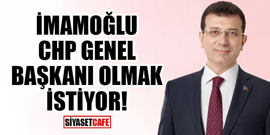Abdülkadir Selvi'den bomba yazı: Ekrem İmamoğlu, CHP Genel Başkanı olmak istiyor!