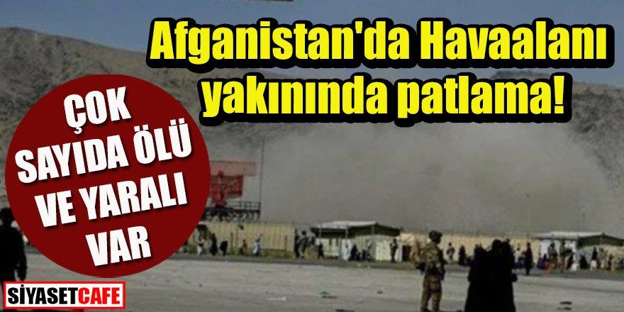 ABD'den açıklama: Afganistan'da Havaalanı yakınında patlama