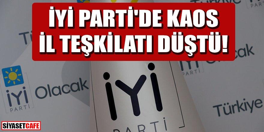 İYİ Parti'de kaos: İl teşkilatı düştü
