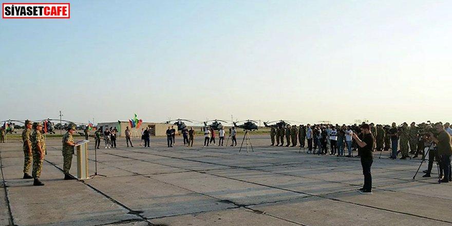 Afganistan'dan tahliye edilen Azerbaycan askerleri Bakü'de