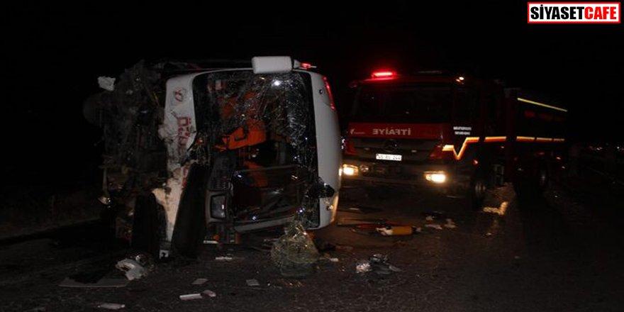 Manisa ve Kahramanmaraş'ta feci kazalar: 8 ölü 7 yaralı