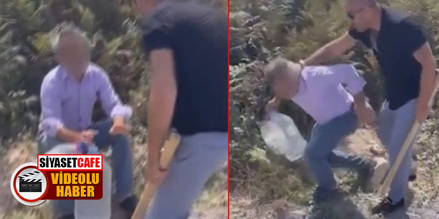 Eşeğe tecavüz etmeye kalkışan şoförü sopalarla dövdüler!
