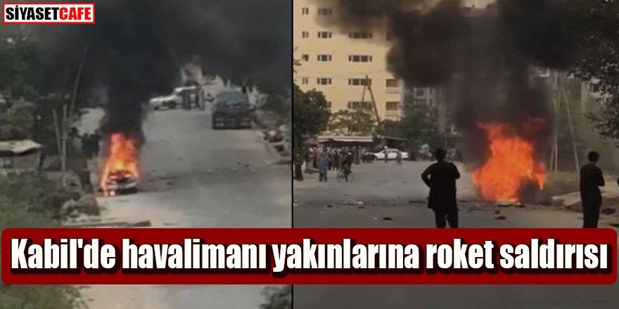 Kabil'de havalimanı yakınlarına roket saldırısı