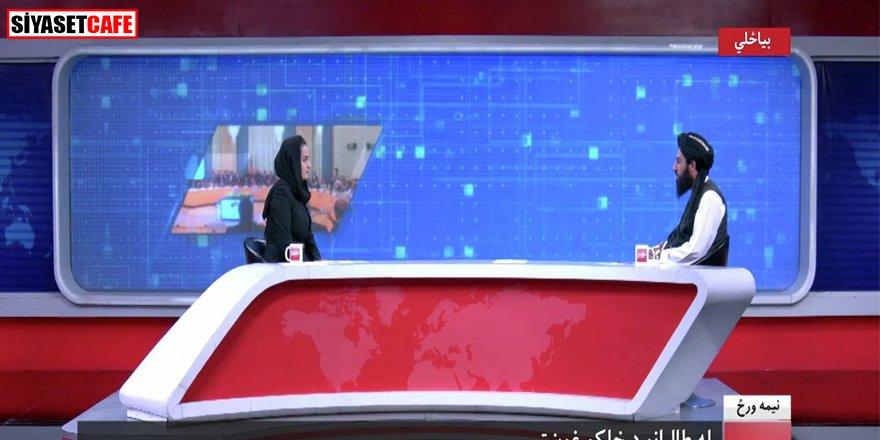 Taliban yetkilisiyle röportaj yapan kadın ülkeyi terk etti