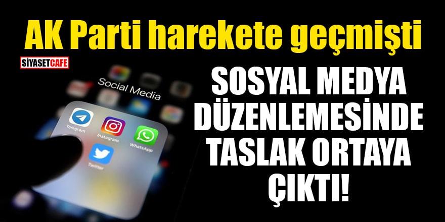 AK Parti harekete geçmişti! Sosyal medya düzenlemesinde taslak ortaya çıktı