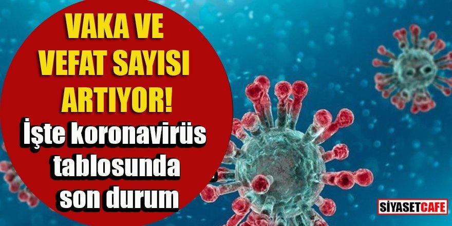 31 Ağustos 2021 koronavirüs tablosu açıklandı